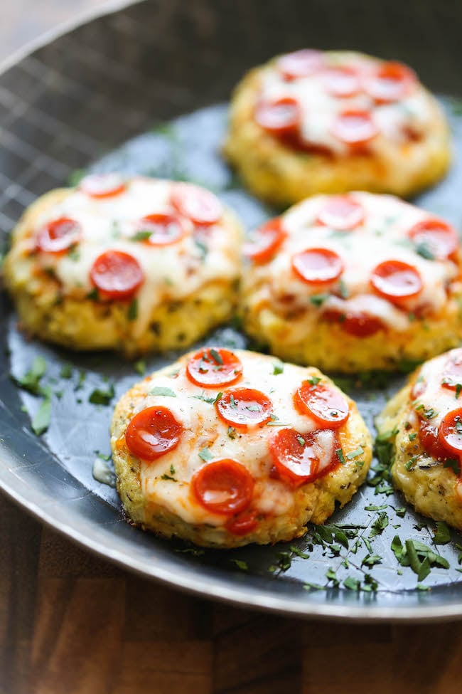 Mini Cauliflower Pizzas Hell Yes 27 Recipes That Are