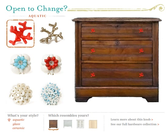 Nice and New: Anthropologie Hardware Store