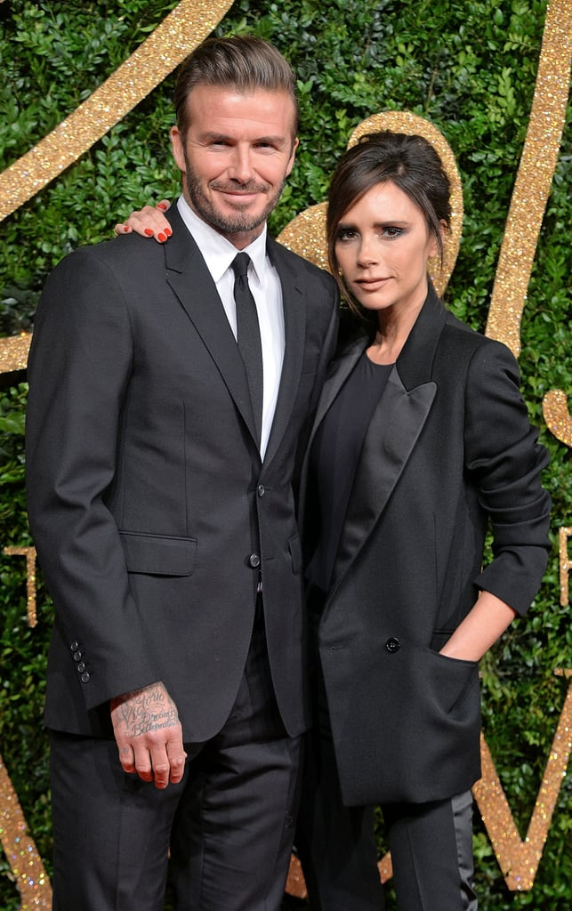 David and Victoria Beckham, 1999