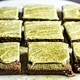 Matcha Brownies With Green Tea Frosting