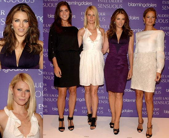 Photos of Gwyneth Paltrow, Elizabeth Hurley, Carolyn Murphy and Hilary Rhoda