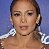 Jennifer Lopez partied at an American Idol bash.