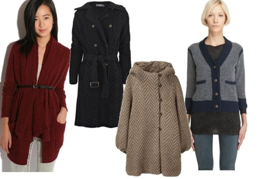 Shopping: Four Knit Jackets, Coats, and Cardigans for Fall 2010