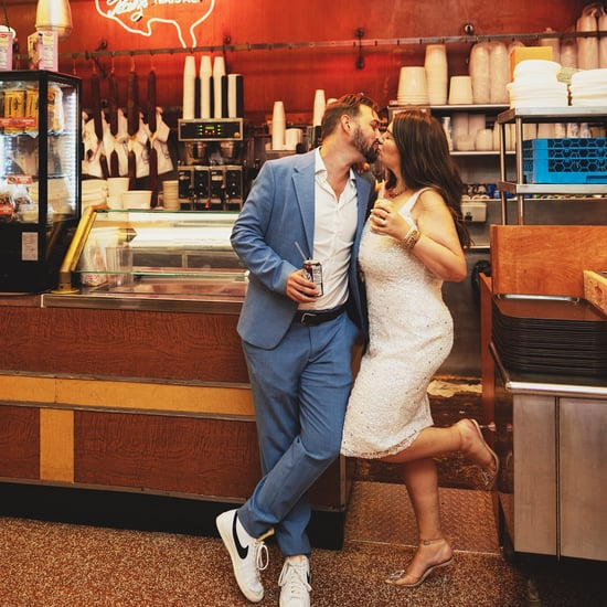 See This Couple's Engagement Shoot at Katz's Deli in NYC