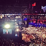 Mitt officially accepted his party's presidential nomination on the final night of the convention.