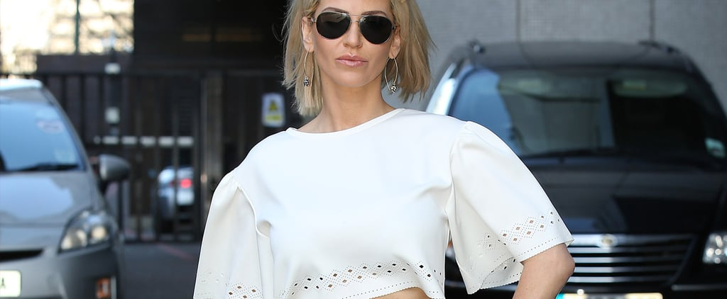 Where to Buy Sarah Harding's Crop Top and Trousers