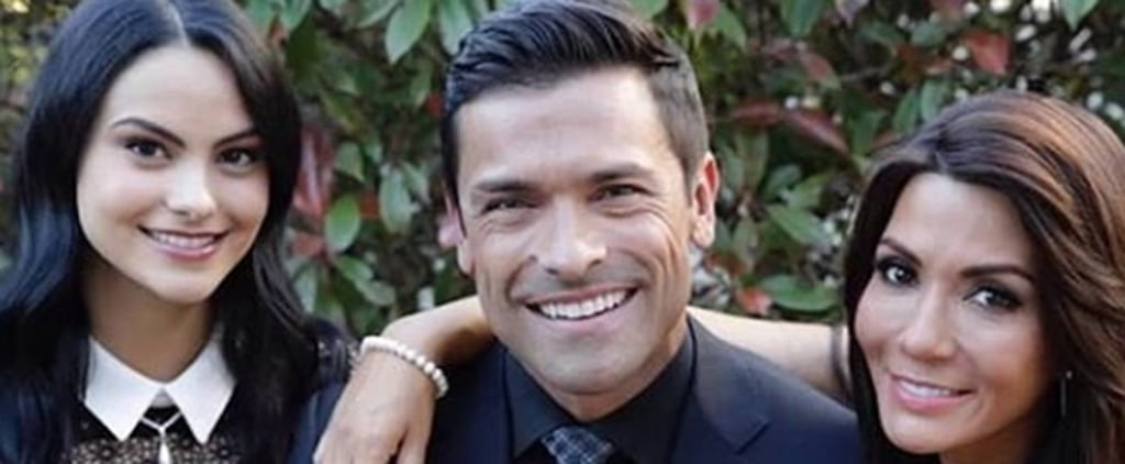 Kelly Ripa and Mark Consuelos Family Holiday Card 2018