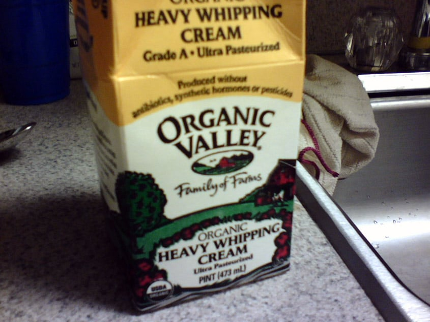 Make Your Own Butter Using Heavy Cream