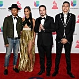 Pharrell Williams, BiA, J Balvin, and Sky