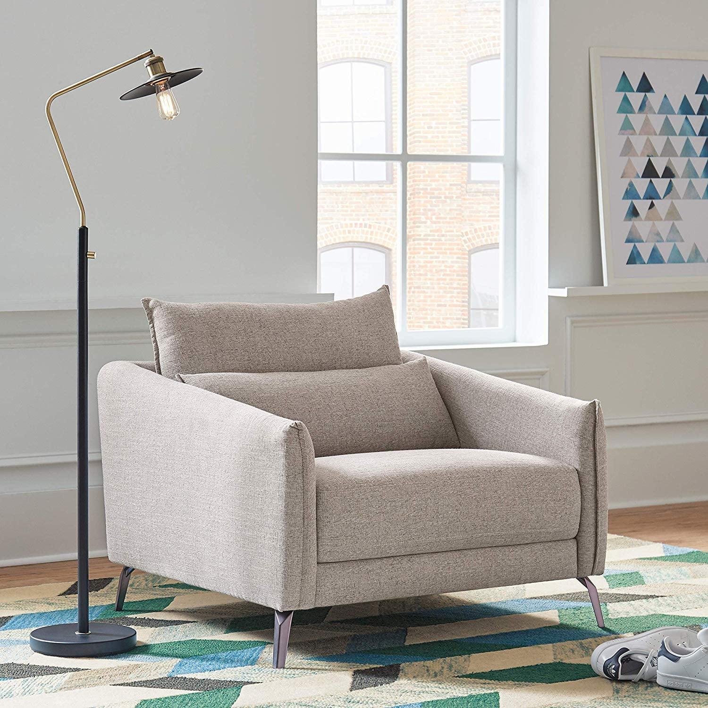 Rivet Berkshire Modern Living Room Accent Chair 31 Pieces