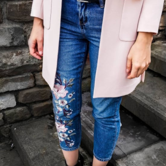 How to Wear Embroidered Jeans