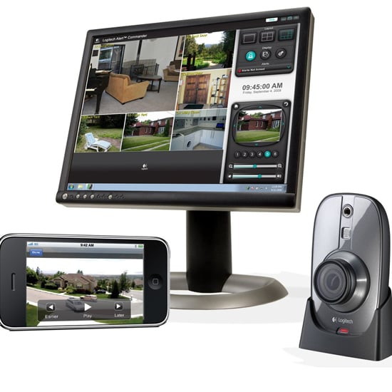 Logitech Alert System For Monitoring Home and Kids