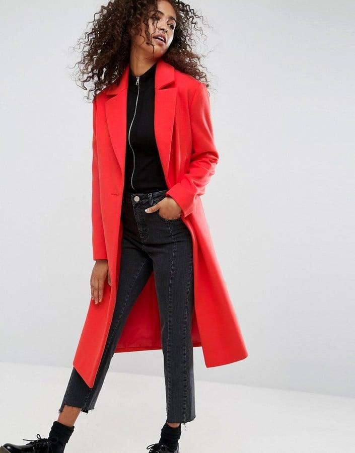 ASOS Longline Boyfriend Coat