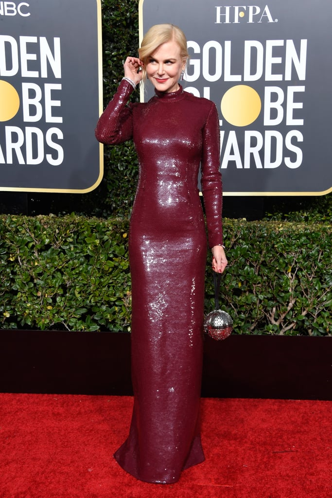 Nicole Kidman at the 2019 Golden Globes