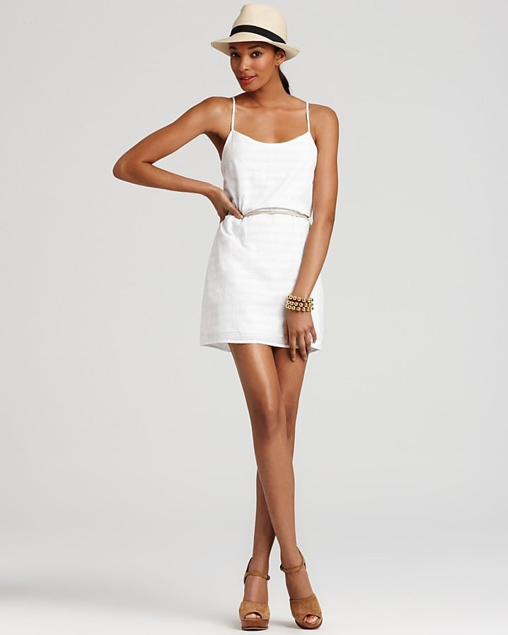 This thin-strap, breezy mini is great for throwing on over a bikini.  Volcom Festivus Dress ($45)