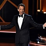 """Not to be outdone, NBC is also a network."" — Host Seth Meyers, reminding his home network that it's not doing very well"