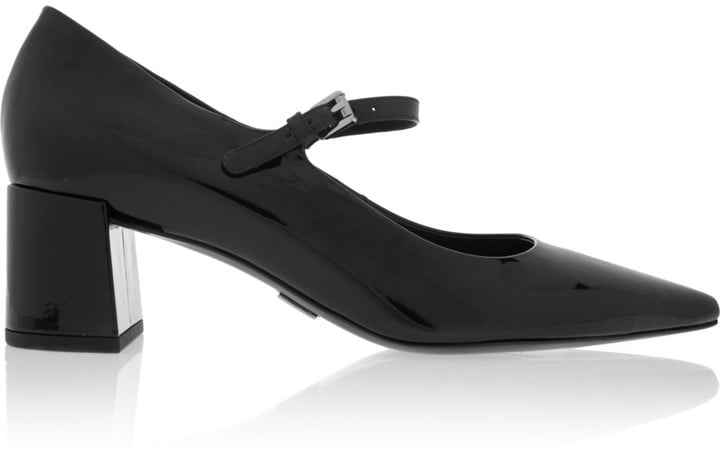 Michael Kors Collection Marney Patent-Leather Mary Jane Pumps ($595)