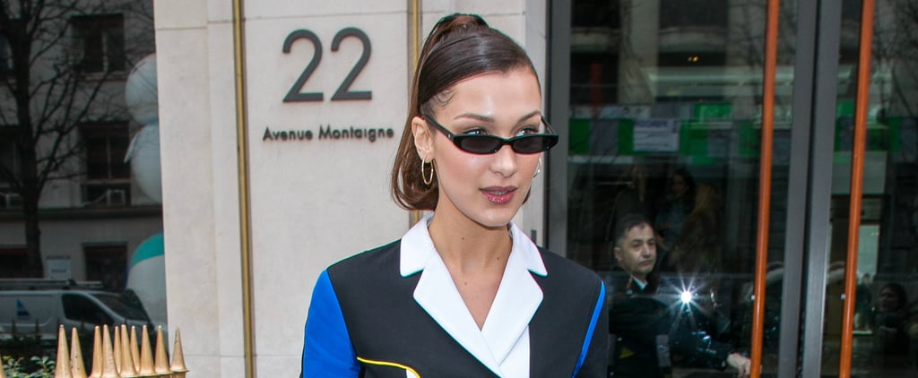 "Bella Hadid Just Made White Pumps ""the New Black"""