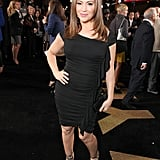 Alyssa Milano wore a little black dress in LA.