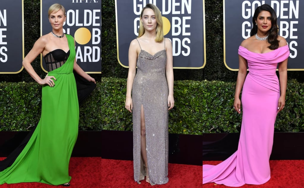 The Sexiest Looks at the Golden Globes 2020