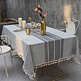 Tewene Embroidered Tablecloth