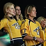 Nicole Kidman and Keith Urban at Stanley Cup Finals 2017