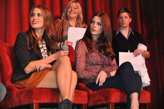 Ashley Greene & Nikki Reed at Twilight Event Georgia Pictures