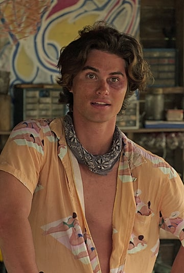 John B's Beach Day Button-Up Shirt in Outer Banks Episode 1