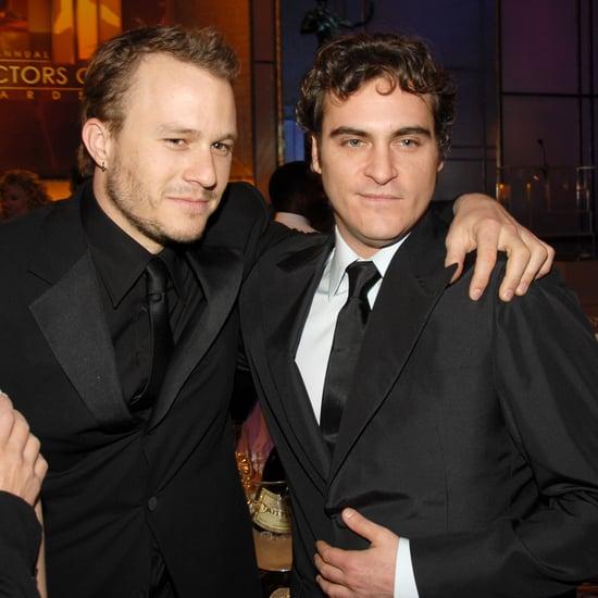 Were Joaquin Phoenix and Heath Ledger Friends?