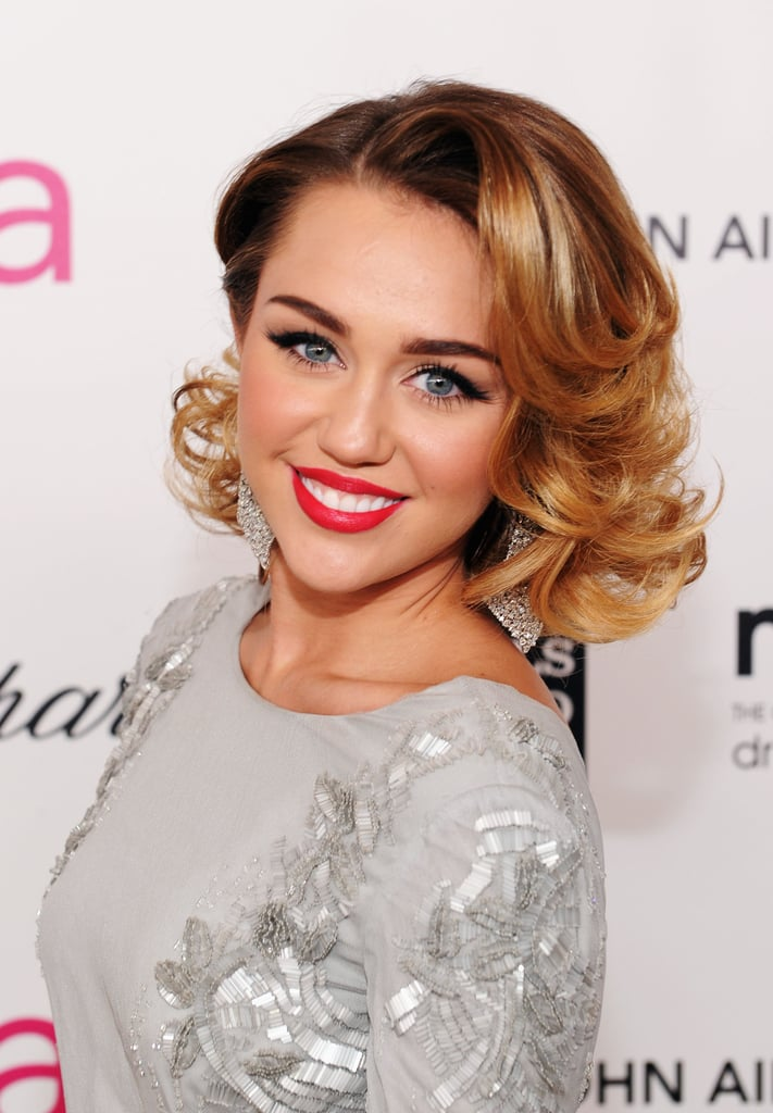 Everyone is excited about the release of The Great Gatsby, and Miley Cyrus's curls were your favorite pick from our top vintage styles to celebrate the film's '20s style.