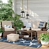 Halsted 4-Piece Wicker Patio Furniture Set