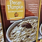 Pecan Pumpkin Instant Oatmeal