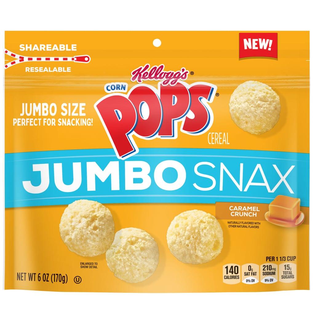 Kellogg's Corn Pops Jumbo Snax Cereal