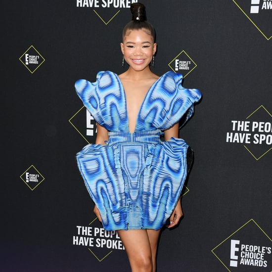 Storm Reid's Lower-Body Workouts on Instagram