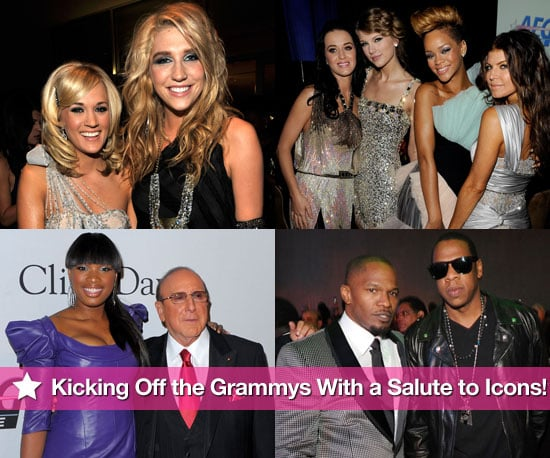 Kicking Off the Grammys With a Salute to Icons!