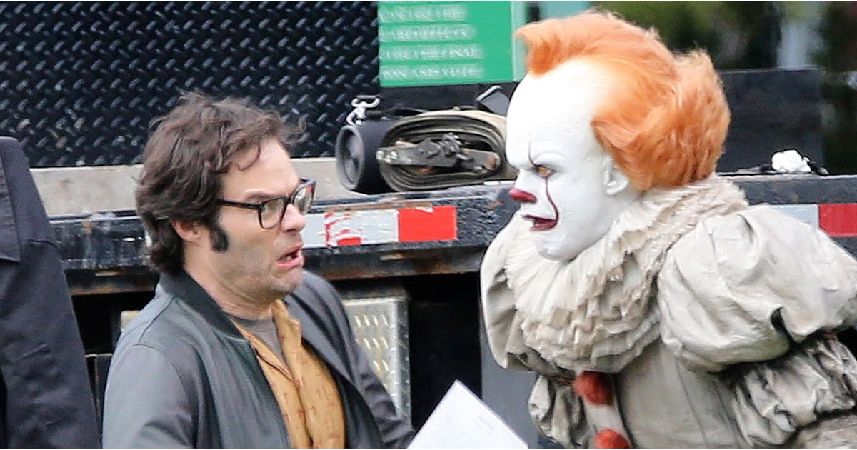 Nothing to See Here, Just Pennywise Clowning Around on the Set of It: Chapter Two
