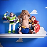 Toy Story Newborn Twins Photo Shoot