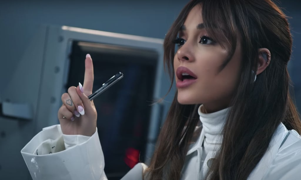 Ariana Grande's Mad-Scientist Makeup Look, aka Classic Ari