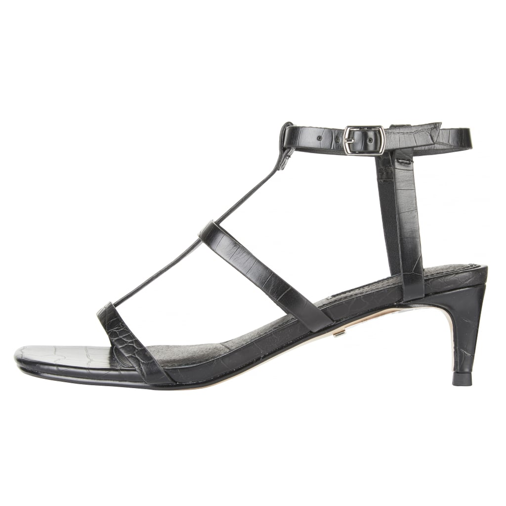 Topshop Ninja T-Bar Kitten Heel Sandals
