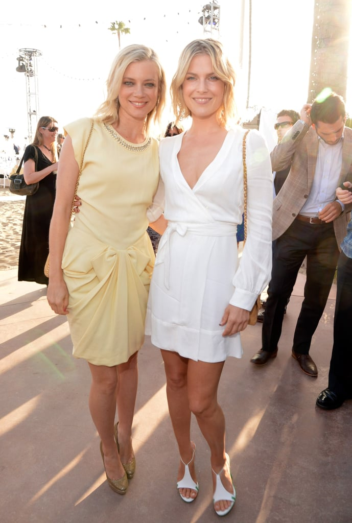When Amy Smart married Carter Oosterhouse in September 2011, her longtime friend and fellow actress Ali Larter served as one of her bridesmaids.