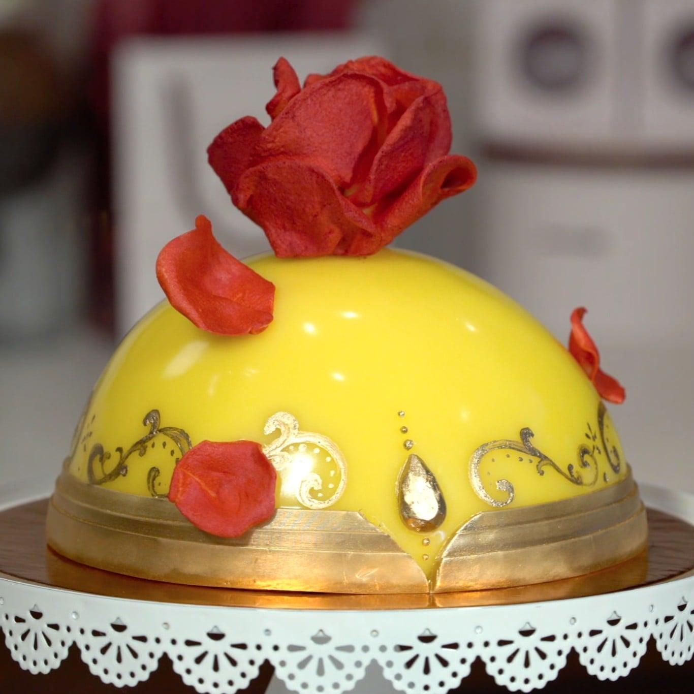 Beauty and the Beast Cake POPSUGAR Food