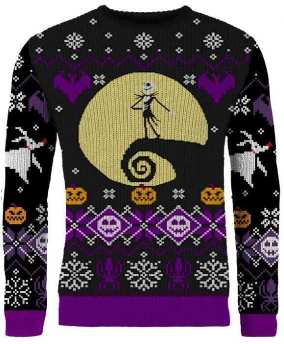 "The Nightmare Before Christmas: ""What's This?"" Knitted Christmas Sweater"