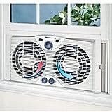 The Best Window Fan: Holmes Dual Blade Twin Window Fan
