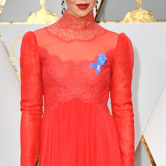 The Blue Ribbon Celebs Are Wearing to the 2017 Oscars