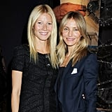 Cameron and Gwyneth posed for a photo together.