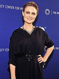 Emily Deschanel Loves Chatting with Son Henry