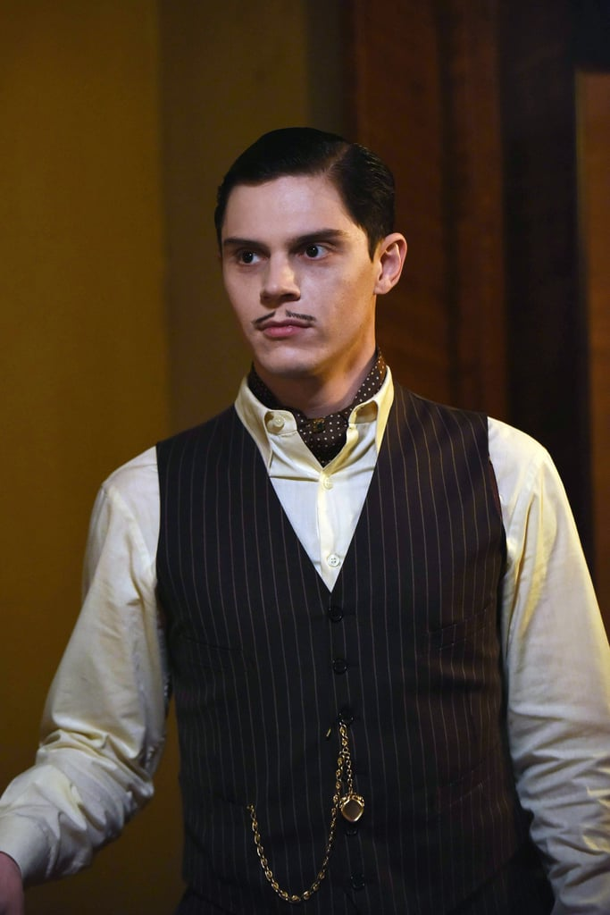 Peters as Mr. March in Hotel