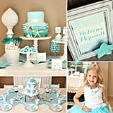 A Mermaid Birthday Party Fit For Ariel