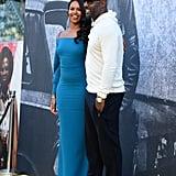 Idris Elba and Sabrina Dhowre at Yardie Premiere 2018