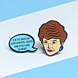Blanche Devereaux Enamel Pin Set